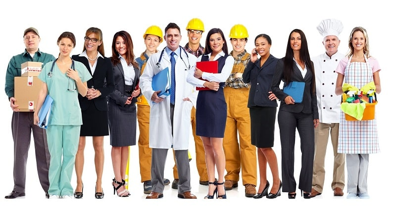 UK - Business Directory Network - Image of professional service people.